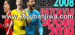 PES 2008 Patch 1.0 Season 2019