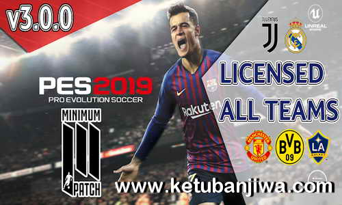 PES 2019 Moblie Android Minimum Patch v3.0.0 AIO Ketuban Jiwa