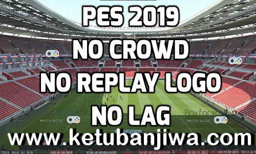 PES 2019 New Graphic Mod No Lag