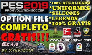 PES 2019 Option File DLC 3.0 + Legends AIO For PS4 by Rvgrapha Ketuban Jiwa