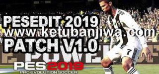 PES 2019 PESEdit Patch 1.0 + DLC 2.0