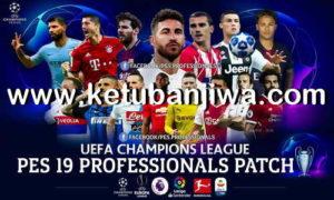 PES 2019 Professionals Patch v1 For PC Ketuban Jiwa