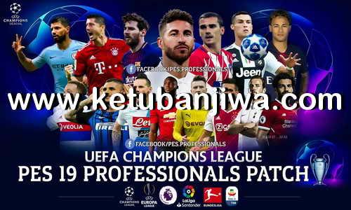 PES 2019 Professionals Patch v1 + Fix