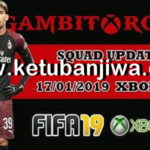FIFA 19 Squad Update 17/01/2019 For XBOX 360