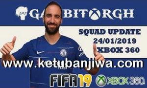 FIFA 19 Squad Update 24 January 2019 For XBOX 360 by Gambit Ketuban Jiwa
