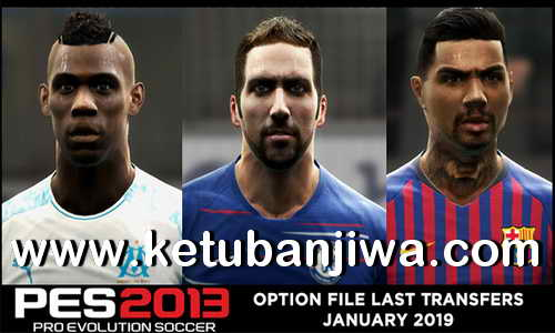 PES 2013 Option File Update 25 January 2019 For PESEdit 6.0 by Micano4u Ketuban Jiwa
