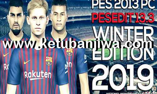 PES 2013 PESEdit v13.3 Patch Update Season 2019 by Minosta4u Keuban Jiwa