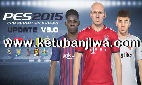 PES 2015 Next Season Patch 2019 Update 3.0