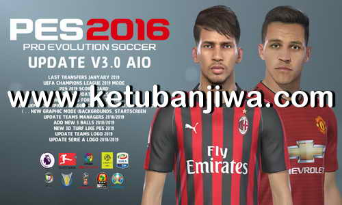 PES 2016 Next Season Patch 2019 Update v3.0 AIO by Micano4u Ketuban Jiwa