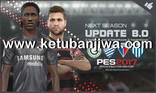PES 2017 Next Season Patch 2019 Update 8.0