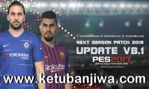 PES 2017 Next Season Patch 2019 Update v8.1 by Micano4u Ketuban Jiwa