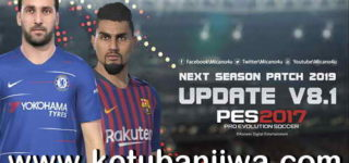 PES 2017 Next Season Patch 2019 Update 8.1