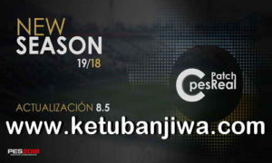 PES 2018 C-PesReal Patch 8.5 Update Season 2019 For XBOX 360 Ketuban Jiwa