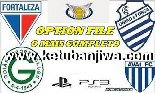 PES 2018 Full Brasileirão Option File Season 2019 For PS3 OFW BLUS by Robgol Gamer Ketuban Jiwa
