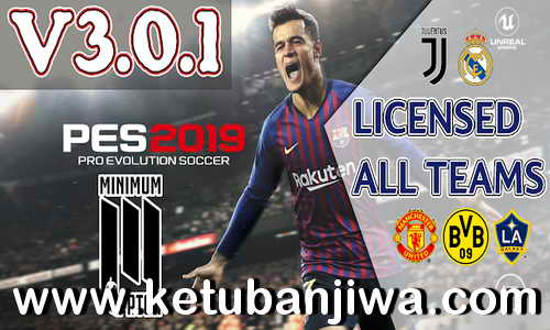 PES 2019 Moblie Android Minimum Patch v3.0.1 Ketuban Jiwa