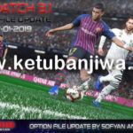 PES 2019 Option File 17/01/2019 For PTE 3.1 by Sofyan Andri