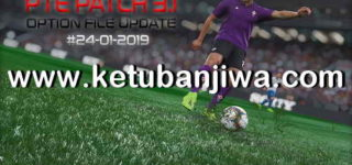 PES 2019 PTE Patch 3.1 Option File Update 24/01/2019