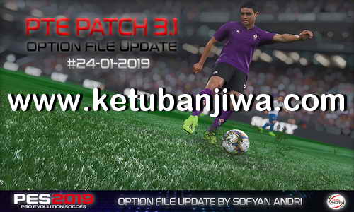 PES 2019 Option File Update 24 January For PTE Patch v3.1 by Sofyan Andri Ketuban Jiwa