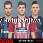 PES 2019 Option File Winter Transfer 30/01/2019