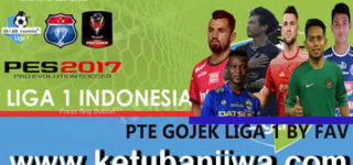 PES 2017 Gojek Liga 1 Indonesia 2019 For PTE Patch 6.5.3