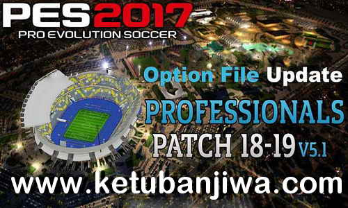 PES 2017 Mega Update Winter Transfer Season 2019 For Professionals Patch v5.1 by Deison Zito Ketuban Jiwa