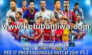 PES 2017 Professionals Patch v5.2 Update Winter Transfer 2019 Ketuban Jiwa