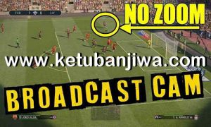 PES 2019 Broadcast Camera Zoom Disabler For DLC 4.02 by Digitalfoxx Ketuban Jiwa