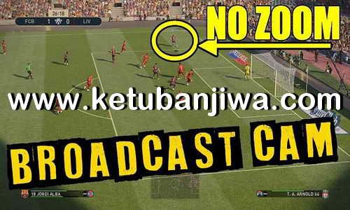PES 2019 Broadcast Camera Zoom Disabler For DLC 4.02 by Digitalfoxx Ketuban Jiwa