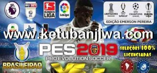 PES 2019 PS4 Option File v5.5 AIO DLC 4.0