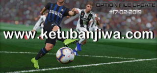 PES 2019 Option File 17/02/2019 For PTE Patch 3.1