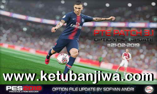 PES 2019 Option File 21/02/2019 For PTE Patch 3.1