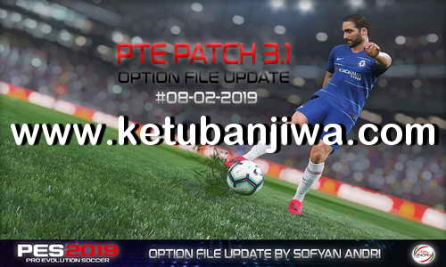 PES 2019 Option File DLC 4.0 For PTE Patch 3.1