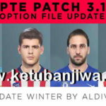 PES 2019 Option File Full Winter Transfer For PTE Patch 3.1
