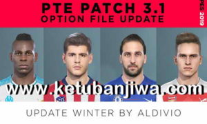 PES 2019 Option File Full Winter Transfer For PTE Patch v3.1 by Aldivio Ketuban Jiwa