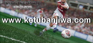 PES 2019 PTE Patch 3.1 Option File Update 31/01/2019