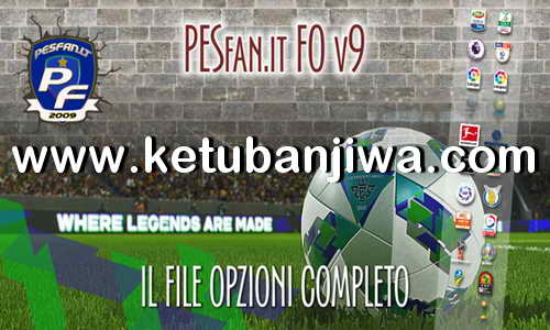 PES 2019 PESFan Option File v9 DLC 4.0 For PS4
