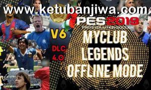 PES 2019 PS4 MyClub Legends Offline Patch v6 DLC 4.0 by Junior Mantis Ketuban JiwaPES 2019 PS4 MyClub Legends Offline Patch v6 DLC 4.0 by Junior Mantis Ketuban Jiwa