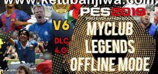 PES 2019 PS4 MyClub Legends Offline Patch v6 DLC 4.0