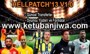 PES 2013 Hell Patch v1 + Fix Season 2019 Singl Link Ketuban Jiwa