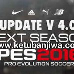 PES 2016 Next Season Patch 2019 Update 4.0