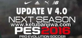 PES 2016 Next Season Patch 2019 Update 4.0