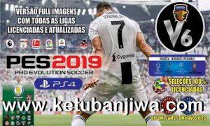 PES 2019 Emerson Pereira Option File v6 AIO DLC 4.02 For PS4 Ketuban Jiwa
