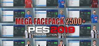 PES 2019 Mega Facepack 2500 Faces Single Link