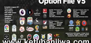 PES 2019 PS4 PESUniverse Option File v5 AIO