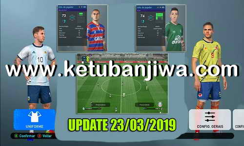 PES 2019 PabloTube Patch Revolution v2 Update 23/03/2019