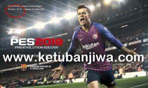 PES 2019 Unofficial CPY Crack 1.04.03 by Jostike Games Ketuban Jiwa