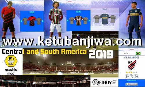 FIFA 19 Brazilian League + Squad Update 17 April 2019 For Original Games + Crack Version by IMS Ketuban Jiwa