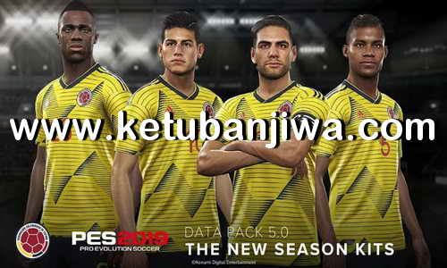 PES 2019 Official Data Pack 5.01 Ketuban Jiwa