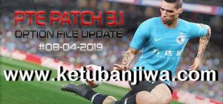 PES 2019 Option File 08/04/2019 DLC 5.0 For PTE Patch 3.1