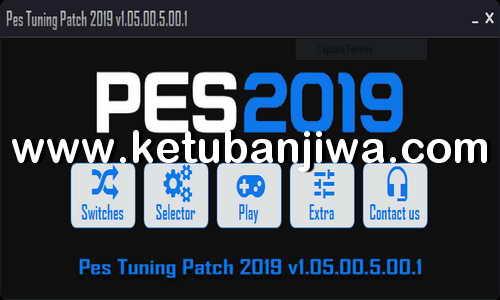 PES 2019 PES Tuning Pach v1.05.00.5.00.1 Compatible DLC 5.0 Ketuban Jiwa